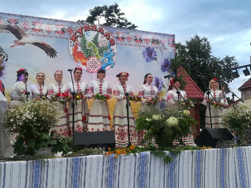 В минувшую субботу лидчане отпраздновали Купалье.