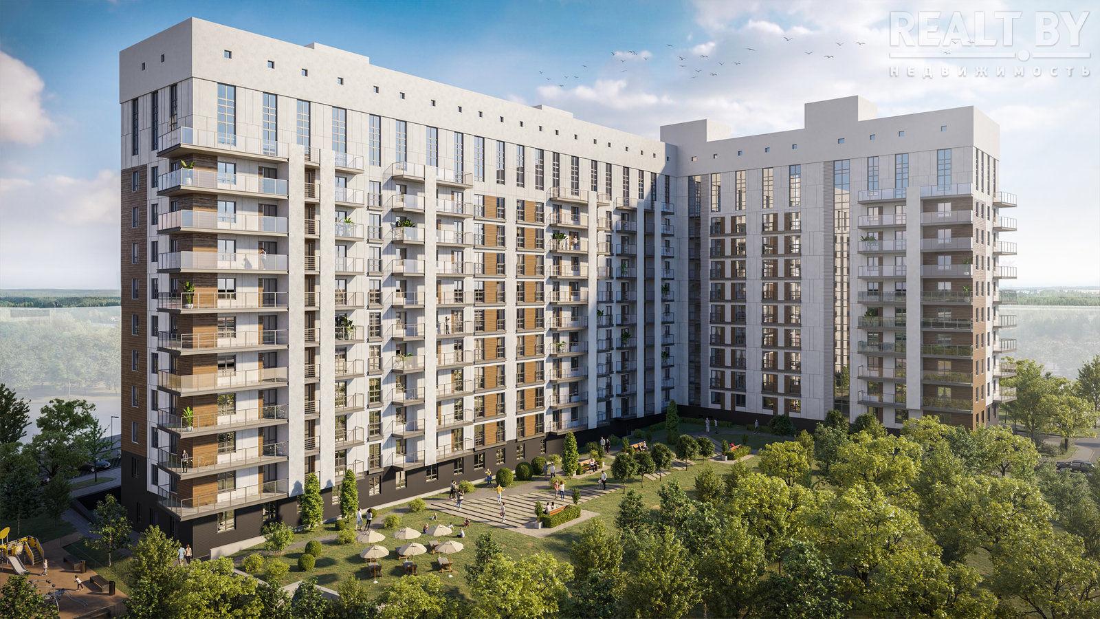 В Лиде продолжается возведение новых домов по улице Гастелло