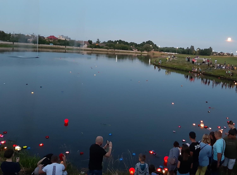 Фестиваль фонариков прошел в нашем городе
