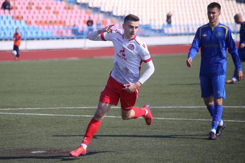Нападающий Ян Сенкевич покинул футбольный клуб «Лида»