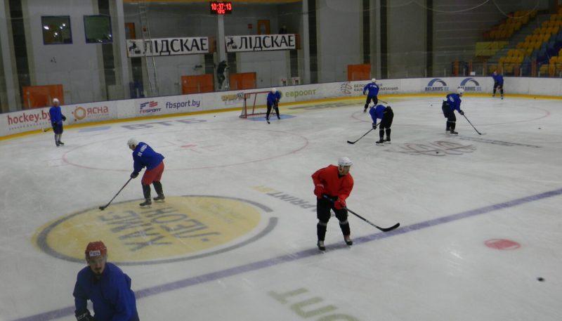Хоккейный клуб «Лида» продолжает подготовку к старту нового сезона