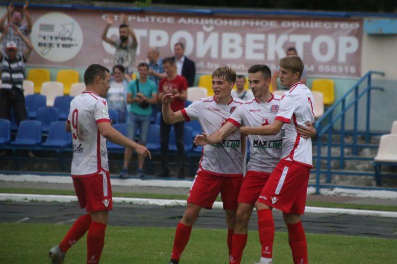 Футбольный клуб «Лида» обыграл «Арсенал» из Держинска