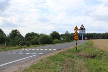 В Лидском районе за 4 года отремонтировано 77 км местных автомобильных дорог