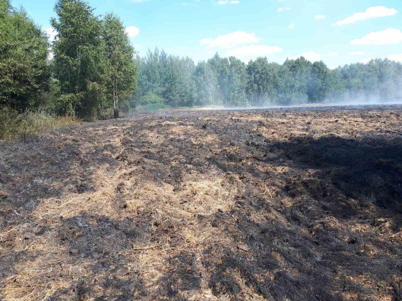 Лидские спасатели за последние сутки дважды выезжали на тушение пожаров
