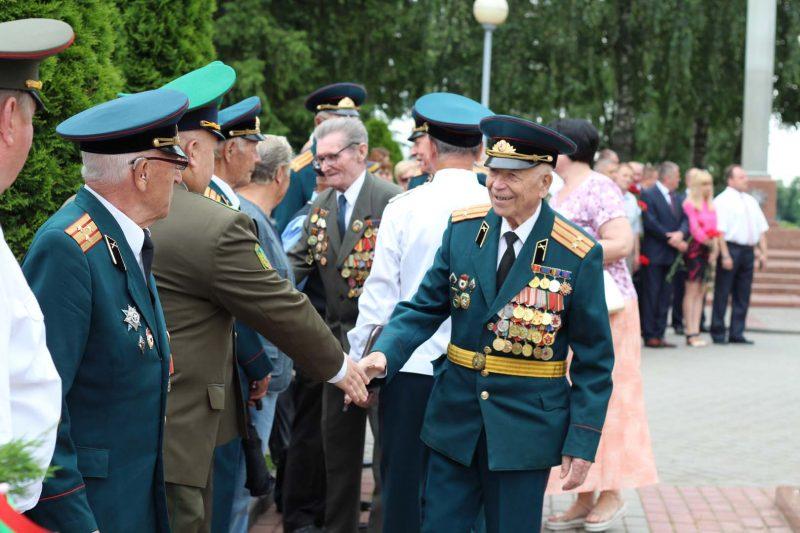 Лида отмечает День Независимости Беларуси.