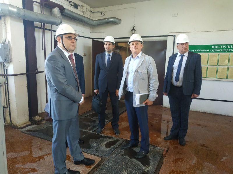Министр энергетики Беларуси Виктор Каранкевич побывал сегодня в Лиде