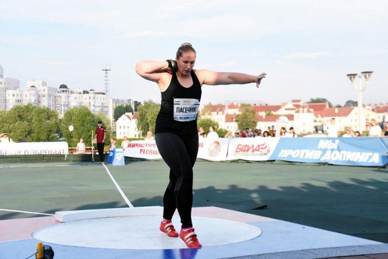 Лидчанка завоевала награду на турнире по толканию ядра в Минске