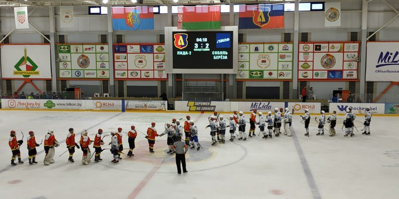 Хоккеисты «Лиды-2» провели первый товарищеский матч в межсезонье
