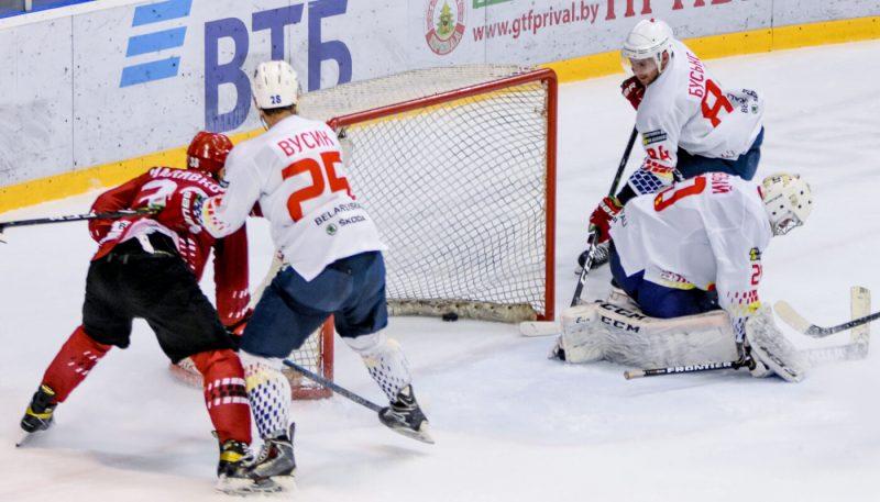 Хоккейный клуб «Лида» завершил выступление в Кубке Руслана Салея