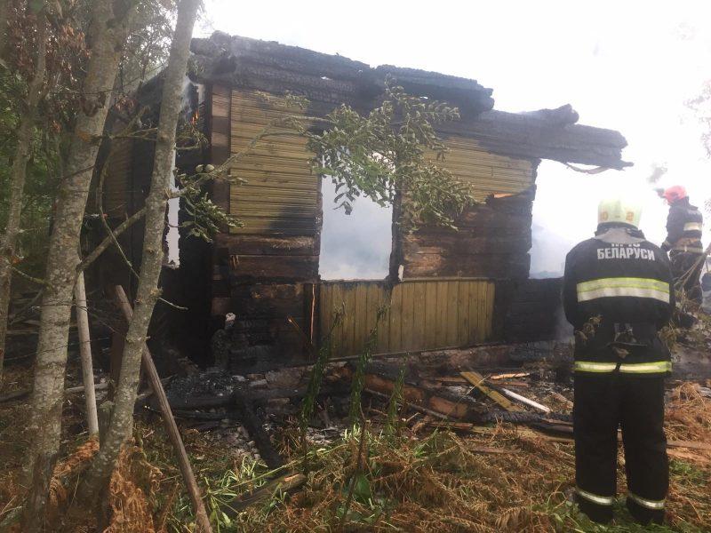 Вчера вечером в Лидском районе произошло два пожара