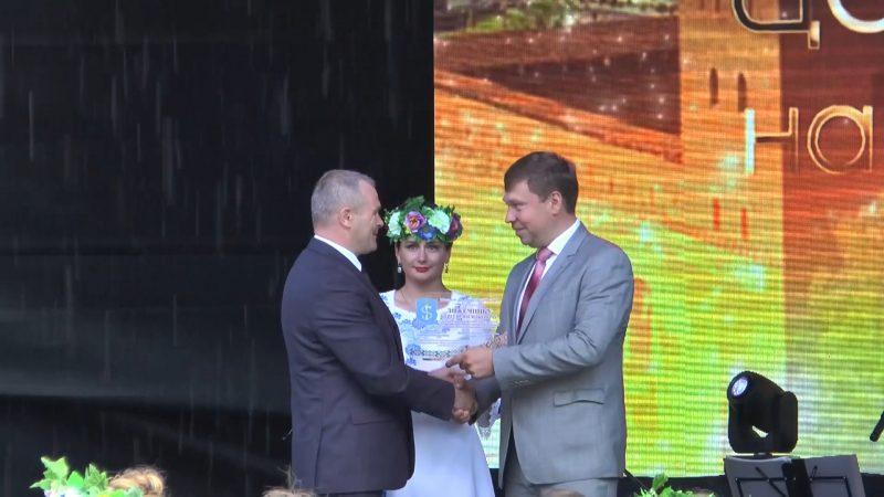 Главе Лидского района Сергею Ложечнику присвоено звание «Почетный гражданин города Щучин»