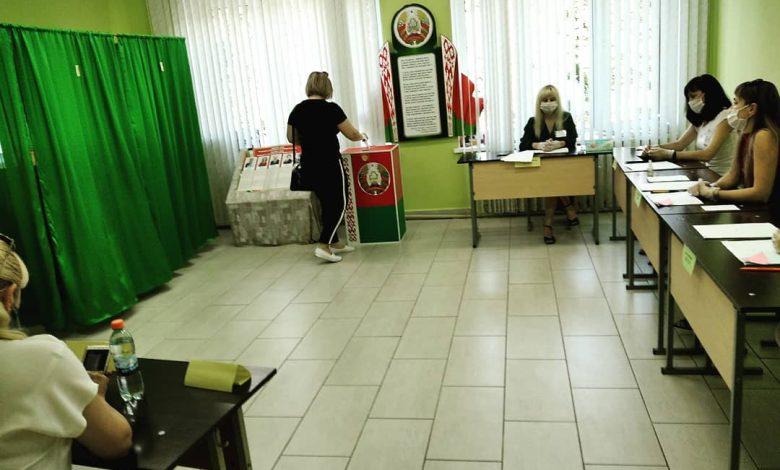 Избиратели проявляют активность на выборах