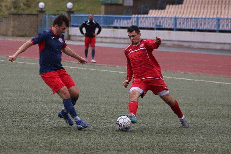 Футболисты «Лиды» провели матч 9-го тура чемпионата Гродненской области