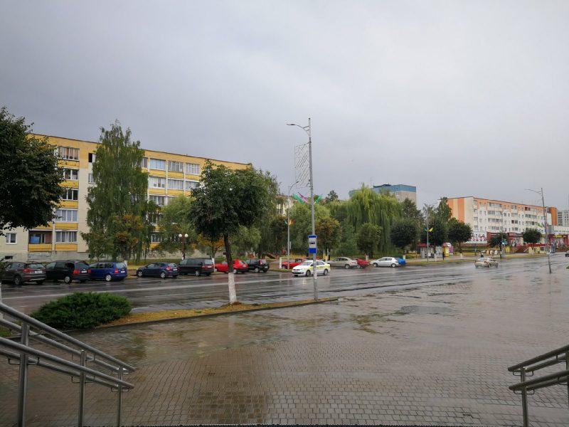 Вчерашние дожди и гроза в регионе прошли без последствий