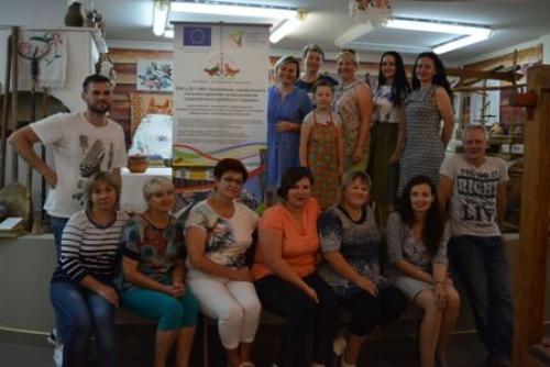 В Лиде прошли обучающие семинары по ткачеству