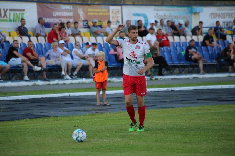 Футболисты «Лиды» провели матч 11-го тура чемпионата Гродненской области