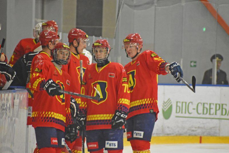 Хоккеисты «Лиды» проиграли аутсайдеру минувшего чемпионата из Витебска.