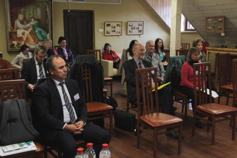 В Лидском замке прошла научно-практическая конференция «Историко-культурное наследие Лидчины», приуроченная 430-летию Магдебургского права в Лиде.