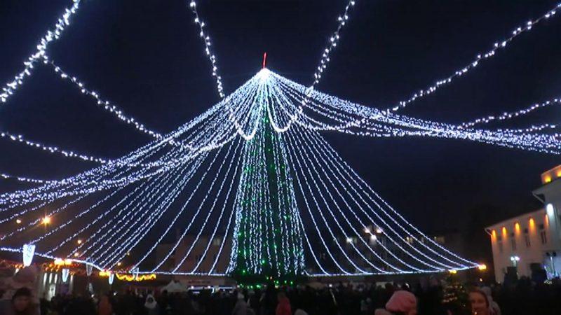 Главную новогоднюю елку в Лиде планируют установить на Дожиночной площади