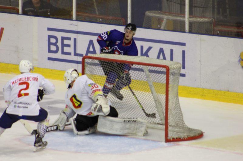 Хоккейный клуб «Лида» провел товарищеский матч. На выезде наша команда встречалась с «Брестом»