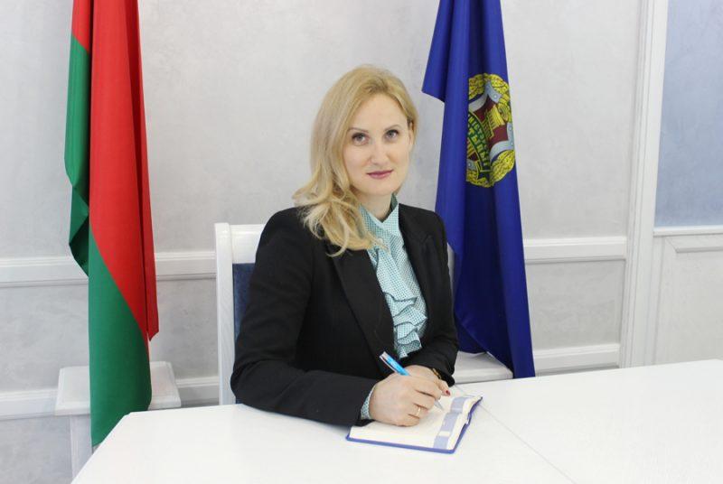 Заместитель Министра юстиции Беларуси Наталья Филиппова проведет личный прием граждан в Лиде