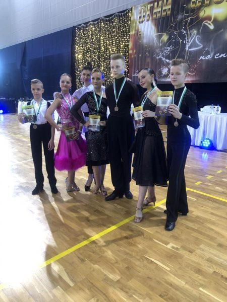 Лидчане завоевали награды на Республиканских соревнованиях по спортивным бальным танцам «Огни столицы – 2020»