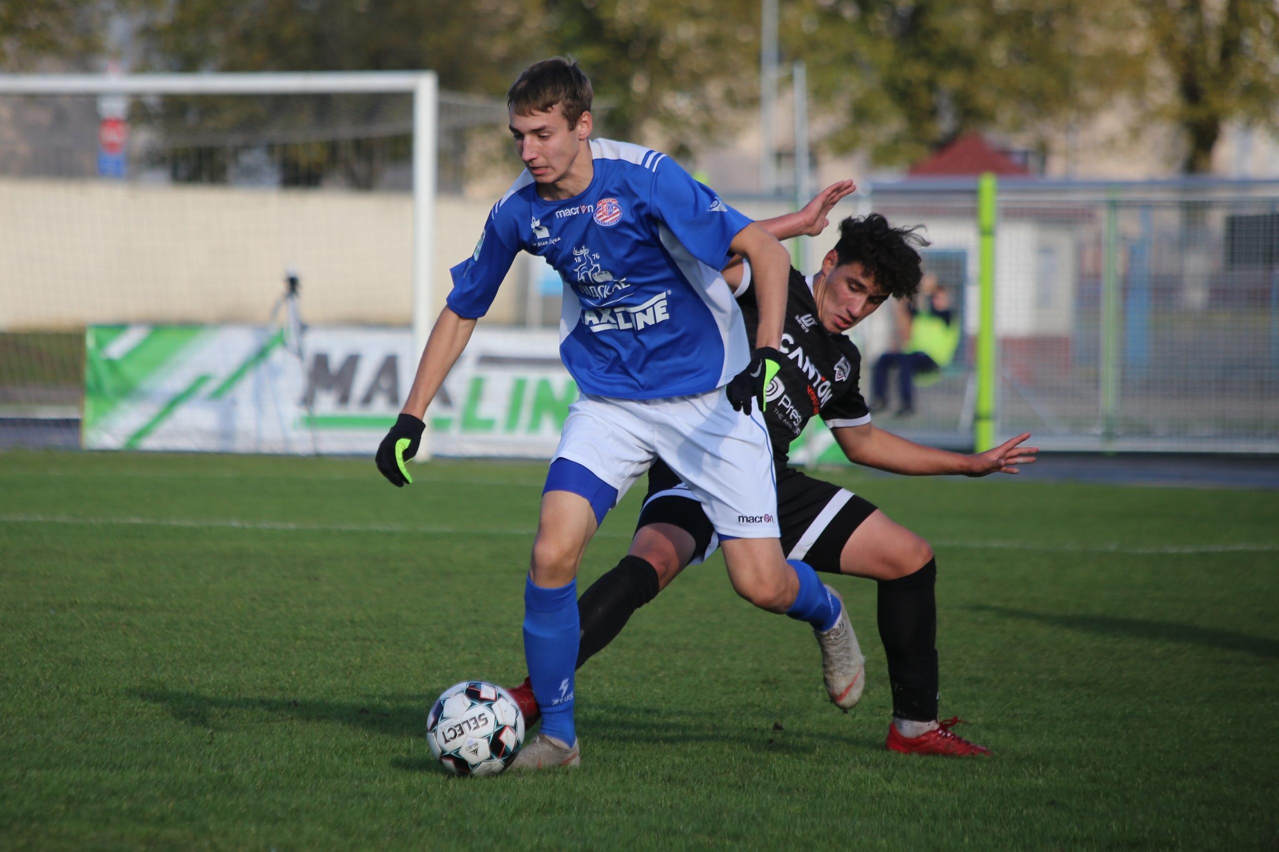 Футбольный клуб «Лида» провел матч 23-го тура чемпионата страны в первой лиге