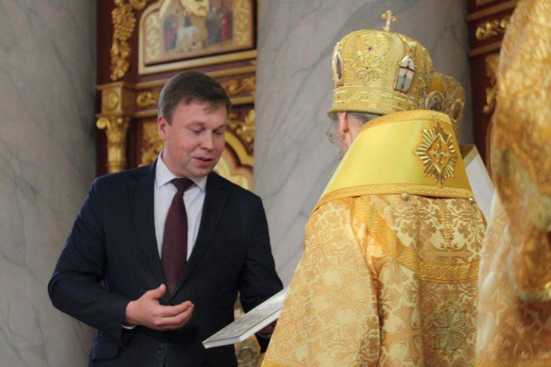 Патриарший экзарх всея Беларуси, митрополит Минский и Заславский Вениамин посетил Лидскую епархию