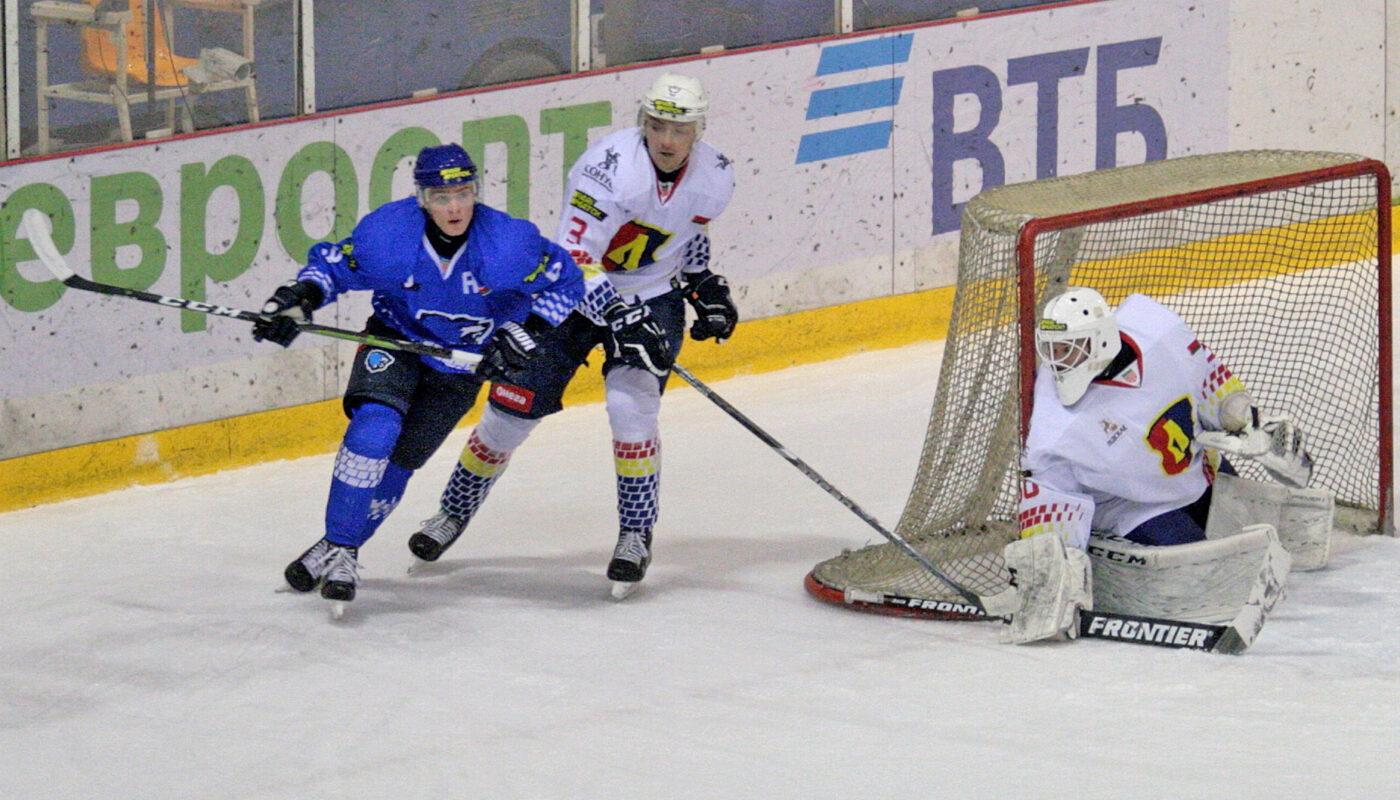 Хоккейный клуб «Лида» на выезде уступил «Витебску»