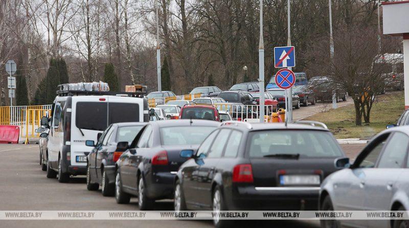 С 4 ноября в пункте пропуска «Бенякони» меняется схема движения транспортных средств
