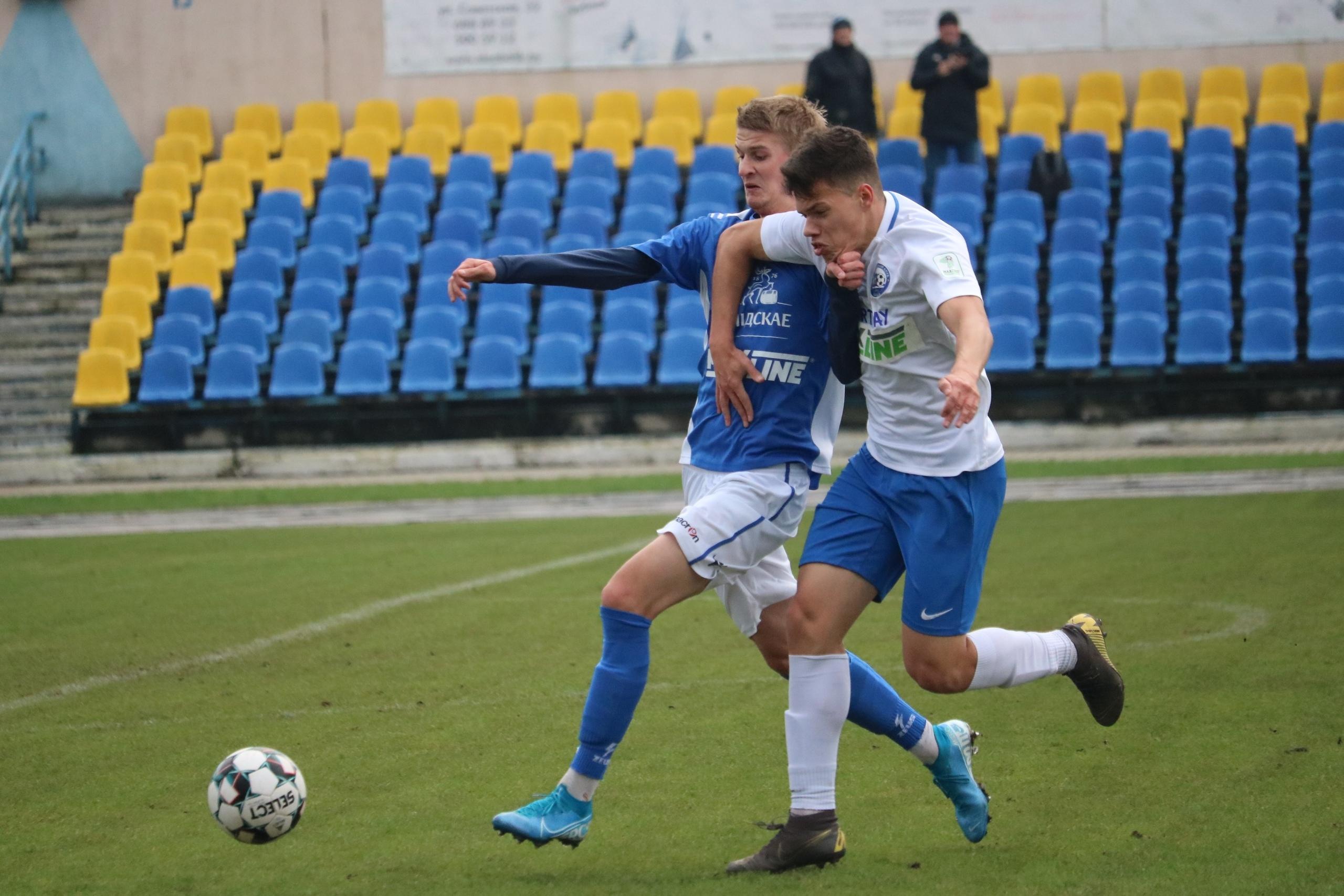 Футбольный клуб «Лида» дома уступил «Орше».