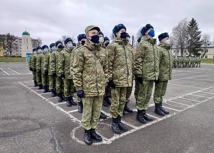 В пограничный отряд прибыло новое пополнение