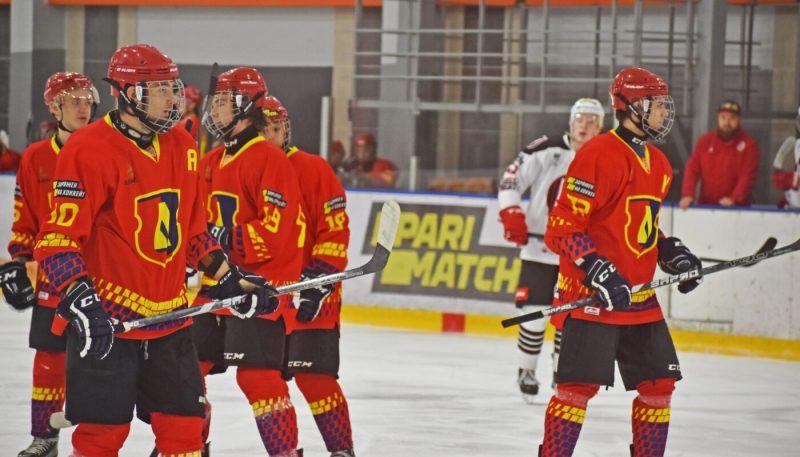 Состоялся очередной тур чемпионата страны по хоккею в высшей лиге