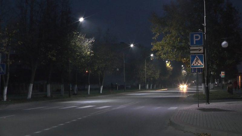 Лидское ЖКХ в этом году заменило светильники, у которых закончился срок службы