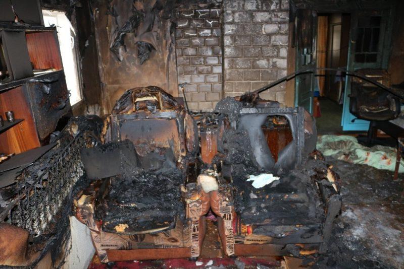 Два человека погибли на пожаре в Лидском районе