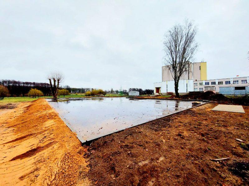 Сдача в эксплуатацию открытой ледовой площадки в Лиде намечена на 18 декабря