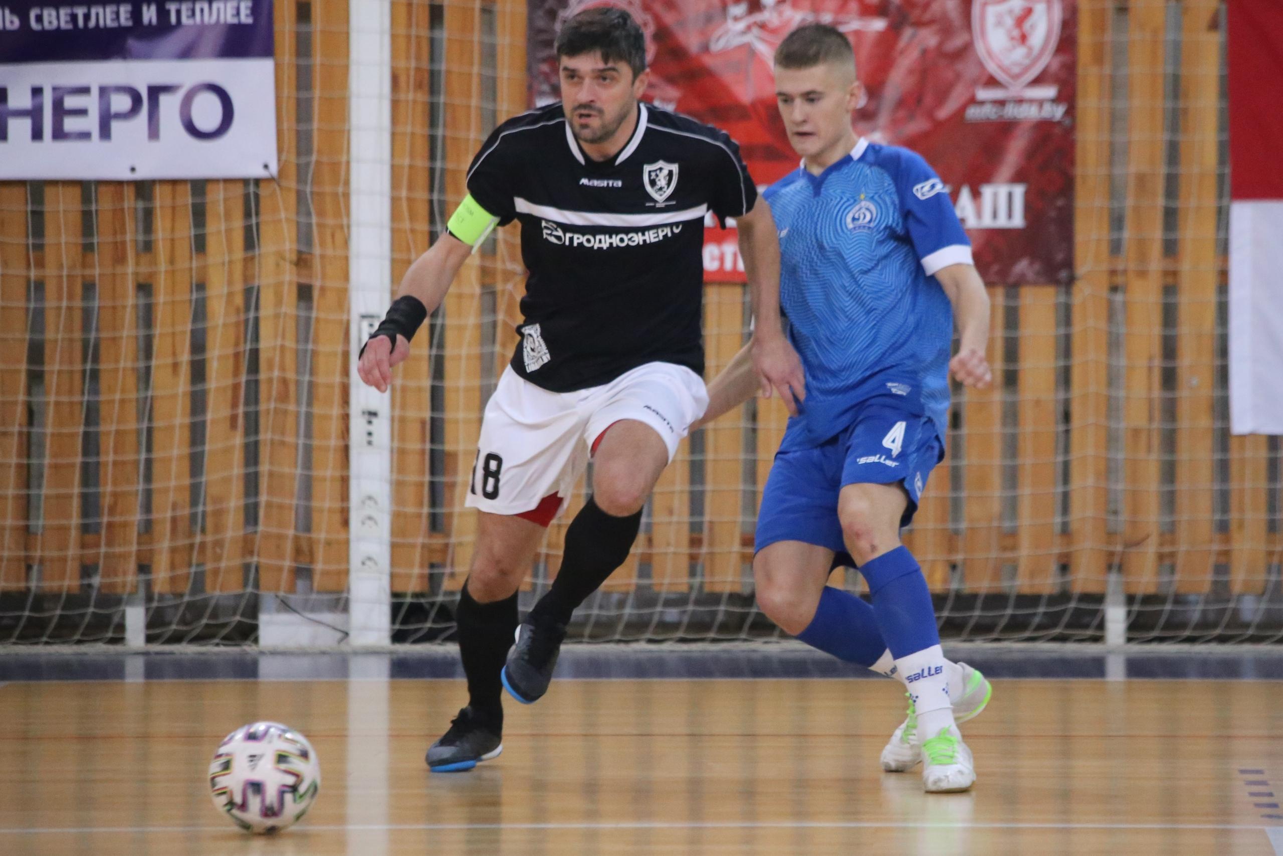 Мини-футбольный клуб «Лида» провел матч 11-го тура чемпионата страны