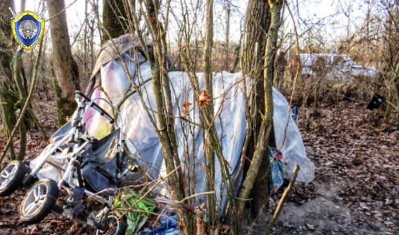 Под Лидой в шалаше обнаружены тела мужчины и женщины