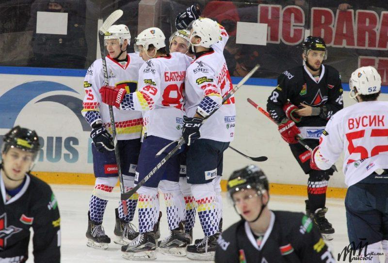 В заключительном матче уходящего года хоккейный клуб «Лида» обыграл на выезде барановичский «Авиатор»