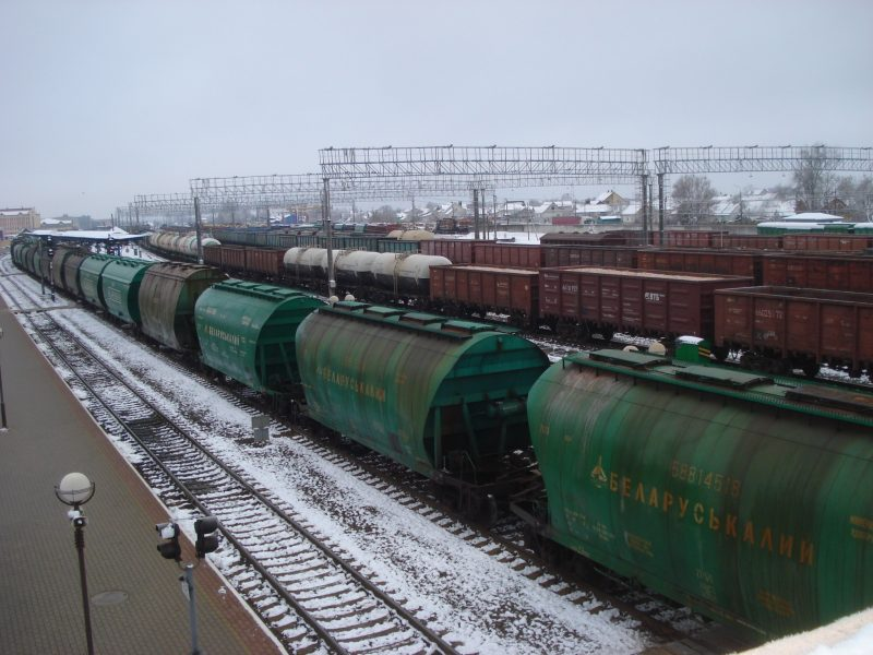 Автовыпуск транзитных товаров на ж/д транспорте в пункте таможенного оформления «Лида» увеличился