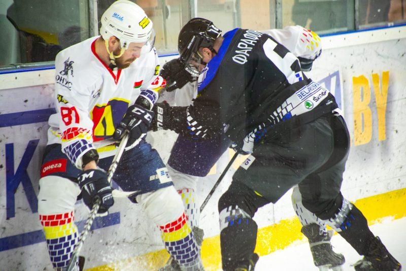 Хоккейный клуб «Лида» на выезде уступил новополоцкому «Химику»