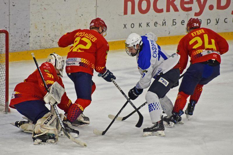Хоккейный клуб «Лида» взял реванш у «Витебска»