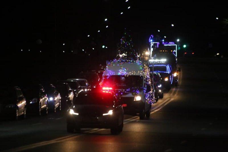 Госавтоинспекция определила места для стоянки личного транспорта в новогоднюю ночь у главной елки города