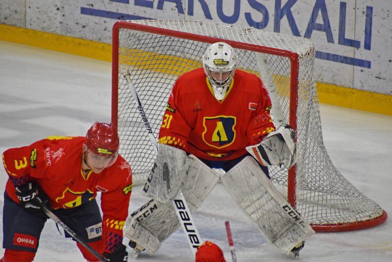 Хоккейный клуб «Лида» обыграл «Пинских Ястребов»