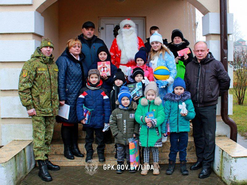 Лидские пограничники присоединились к республиканской благотворительной акции «Наши дети».