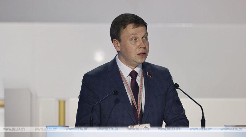 Председатель Лидского райисполкома Сергей Ложечник накануне выступил на Всебелорусском народном собрании