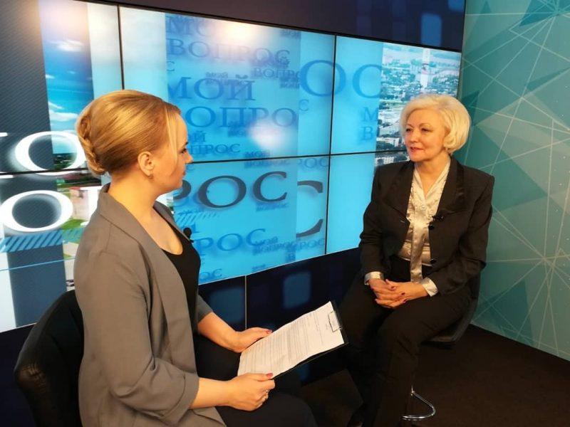 Сегодня на телеканале «Лида-ТВ» смотрите очередной выпуск программы «Мой вопрос»