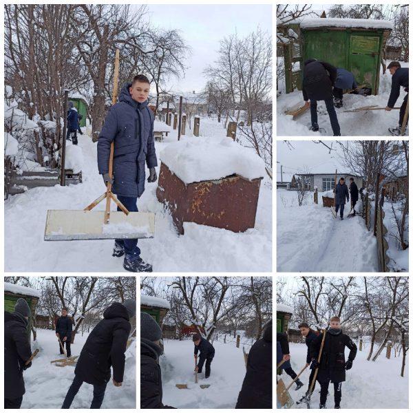 Молодежь Лидчины готова помочь в уборке снега