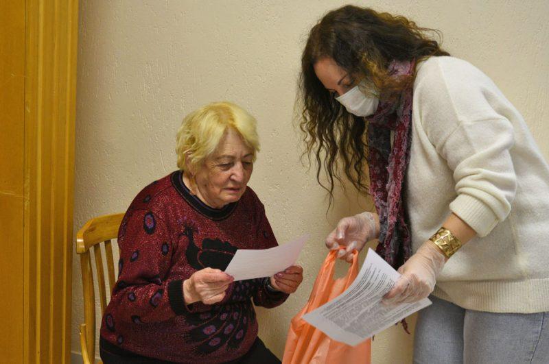 Центр социального обслуживания оказывает помощь в период пандемии