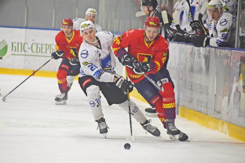 Хоккейный клуб «Лида» уступил новополоцкому «Химику»